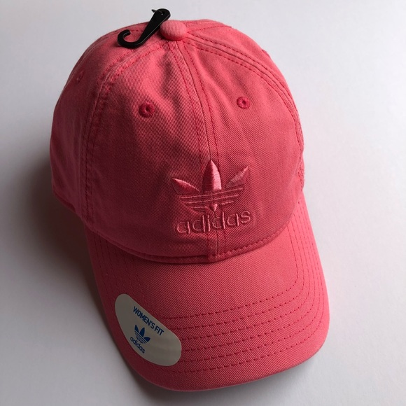 b618163a889 Adidas Originals pink relaxed strapback hat NWT